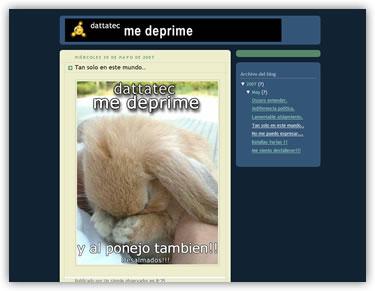 Dattatec me deprime