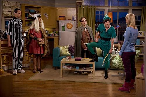 The Big Bang Theory Wallpaper Disfraces