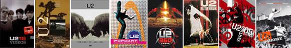 DVD's de U2
