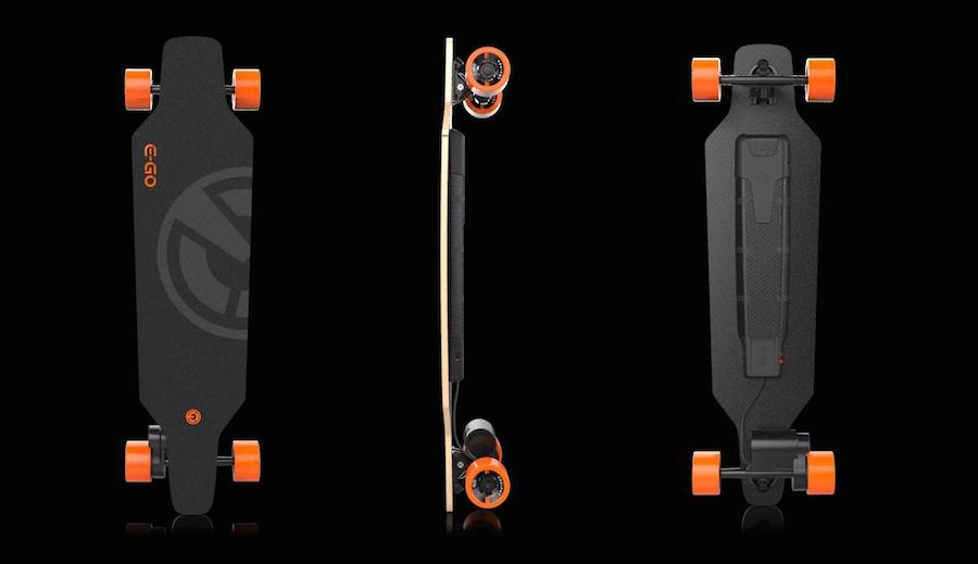 E-GO Cruiser: Un longboard eléctrico a batería