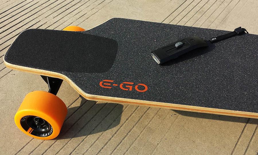E-GO Cruiser, el longboard eléctrico