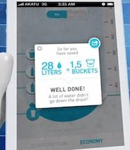 Fake Shower App - Dia Mundial del Agua 2012
