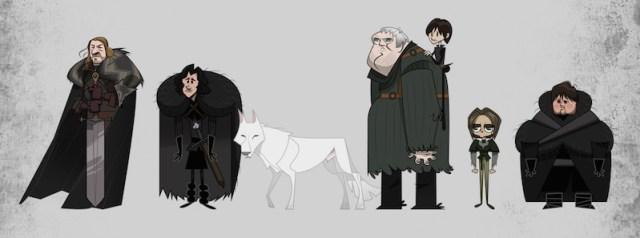 Game of Thrones por Franco Spagnolo