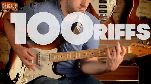 La historia del rock en 100 riffs