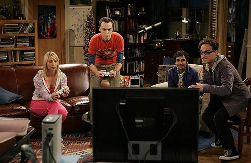 The Big Bang Theory Living Wallpaper