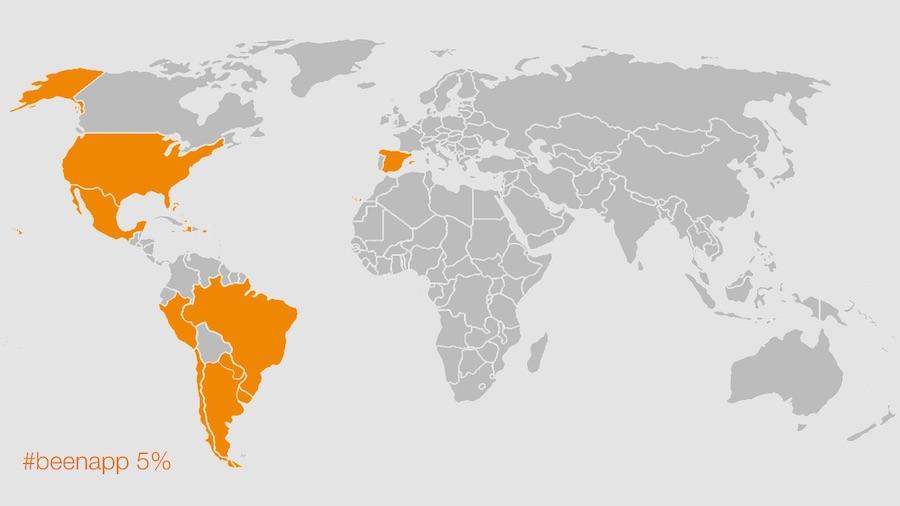 Mapa de viajes