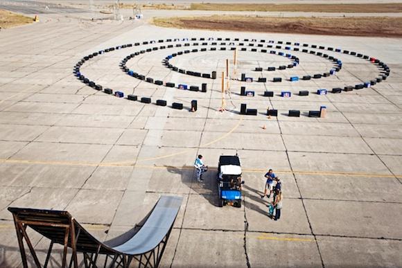 La máquina de Rube Goldberg de Red Bull