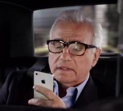 Publicidad de iPhone con Martin Scorsese: Siri