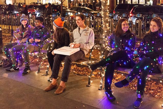 Navidad en Nueva York con Improv Everywhere
