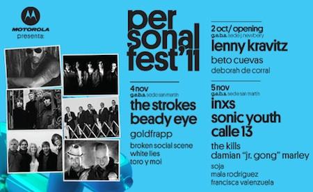Publicidad Personal Fest 2011