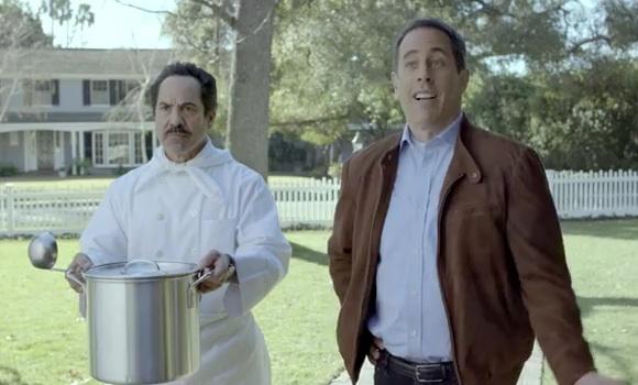 Publicidad con Jerry Seinfeld del Acura NXS para el Super Bowl 2012