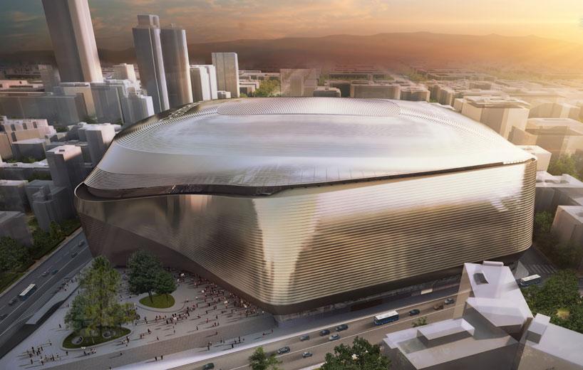 Real Madrid: Remodelación del Estadio Santiago Bernabéu
