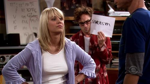 Sarcasm The Big Bang Theory Wallpaper