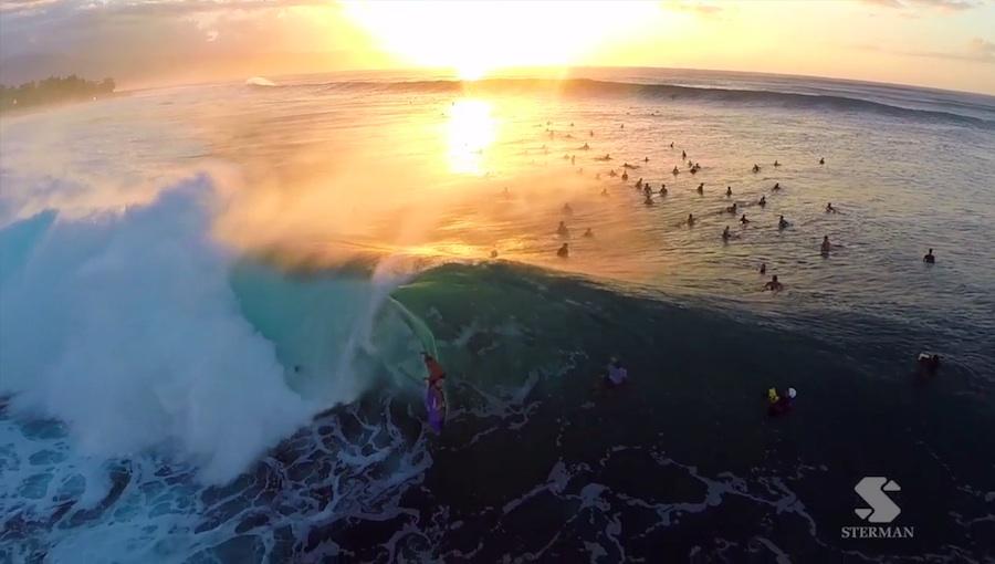 Surf en Hawai con una GoPro