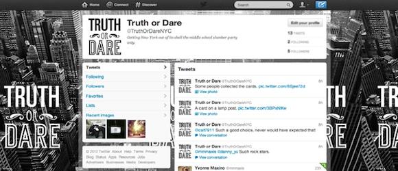 Truth or Dare New York en Twitter