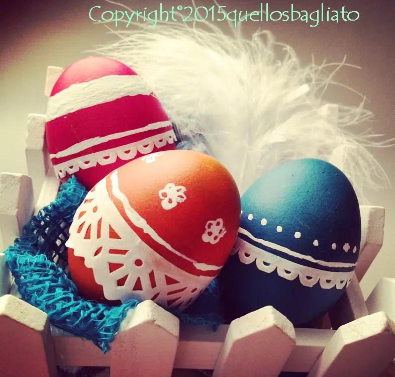 Decorare uova pasquali