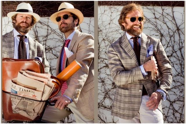 vintage blog blazer uomo