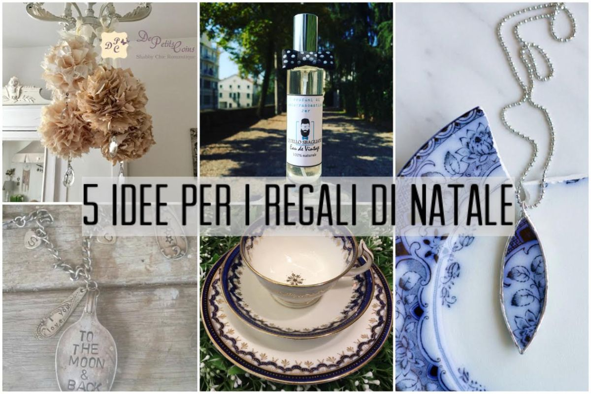 Idee regalo in stile vintage 5 regali da fare a natale for Regali di natale a 1 euro