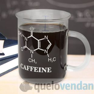 Taza Qumica frmula molecular de cafena  Quelovendan