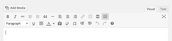 editor wordpress fregadero de cocina