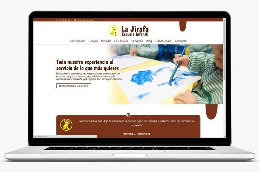 EI La Jirafa realizado por quenohariayoporti