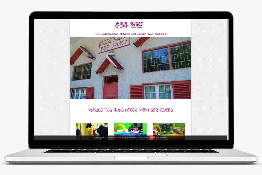 Escuela Infantil Nanos realizado por quenohariayoporti