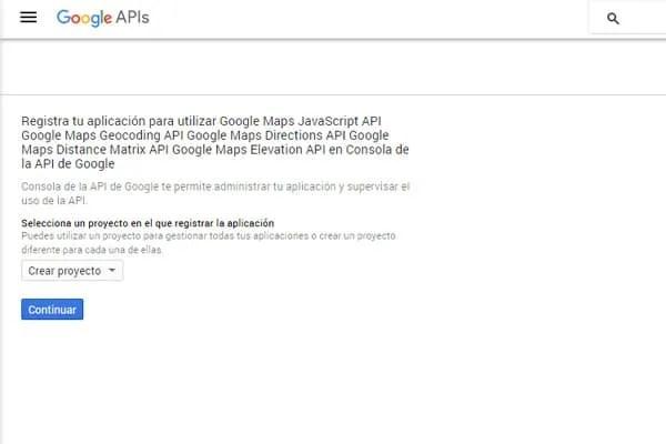 API de Google Maps