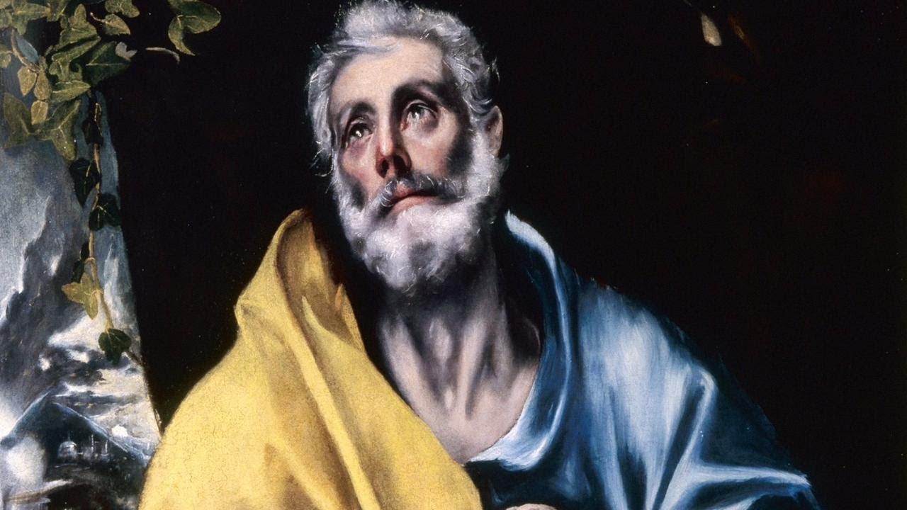 Las lágrimas de San Pedro El Greco