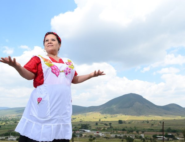 Juana Amaya, a cuisine built on tenacity