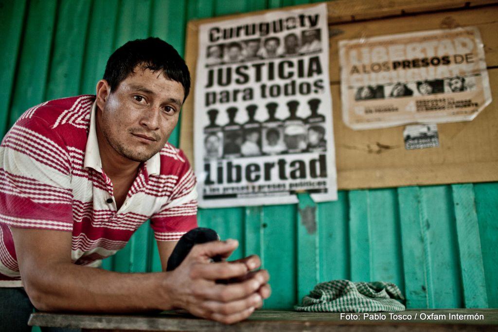 Alcides Ramón. Curuguaty, junio de 2013. Fotografía: Pablo Tosco / Oxfam