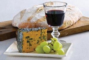 Bread, cheese & wine
