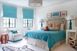 Aqua Bedroom