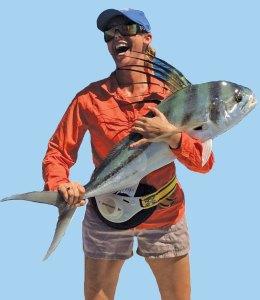 sarah with fish