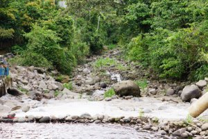Rio Platanar — A river of stones below the dam. Photo: Bruce B. Jones
