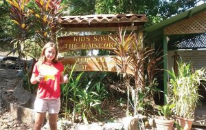 Lexi in the rainforest