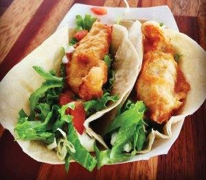 Fish tacos at Z Gastro Bar