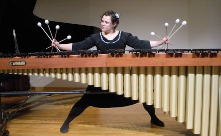 Playing with four mallets in each hand