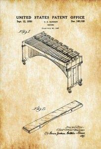 Old marimba patent