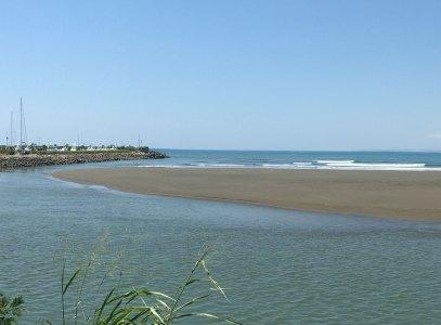 Quepos River mouth