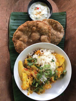 Aloo Gobi - Potatoes and Cauliflower Curry