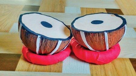 Coconut drums
