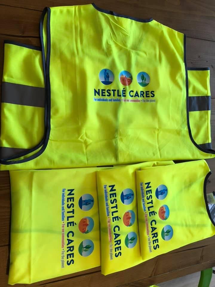 Veiligheidshesjes Nestle Cares