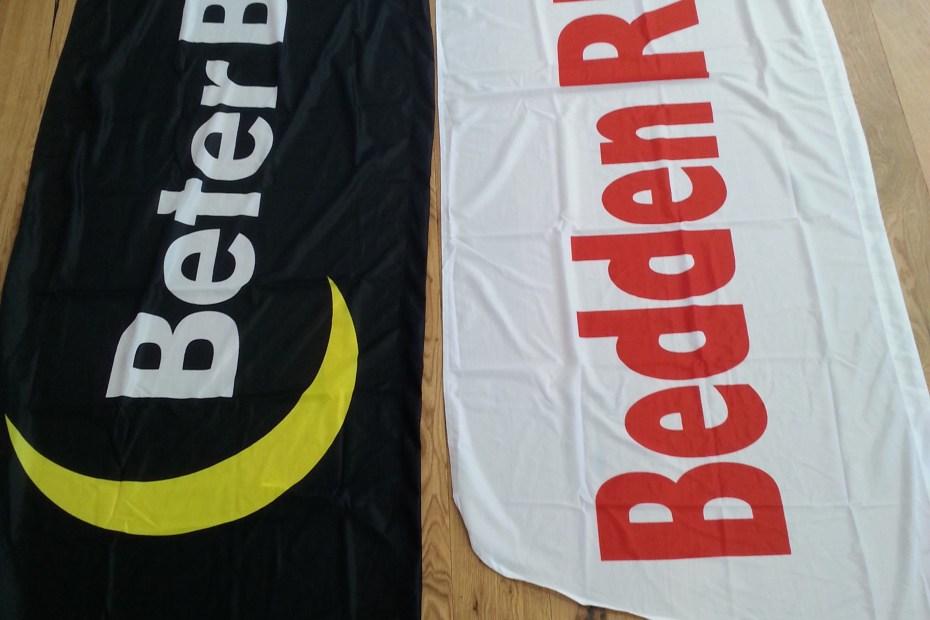 Beachvlaggen Beter Bed