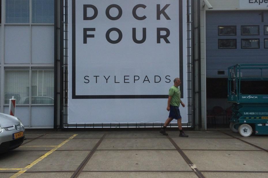 Buizenframe met doek Dock Four