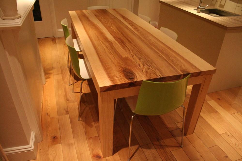 Bespoke Handmade Contemporary Ash Table