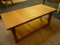 Handmade Oak Coffee Table | Quercus Furniture