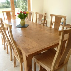 Restaurant Table And Chairs Occasional Living Room Large Pippy Oak Dining Quercus Furniture