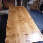 Handmade 3 Board Solid Oak Table