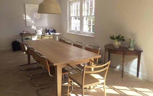 Bespoke Handmade Contemporary Dining Table