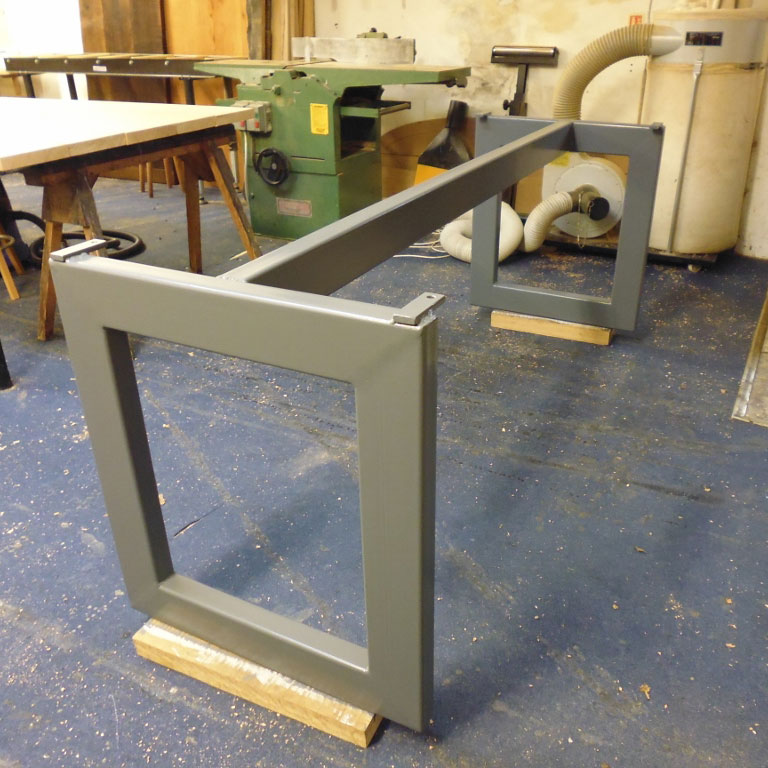 Metal Base for Waney Edge Table